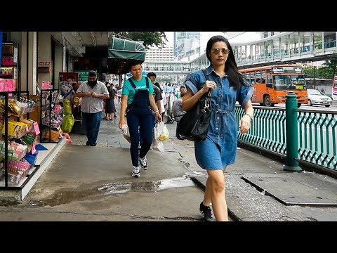 Walking in Pratunam - Bangkok, Thailand 2018