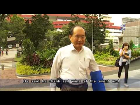 Former PAP's MP, Chan Soo Sen found guilty of drink driving - 01Aug2013