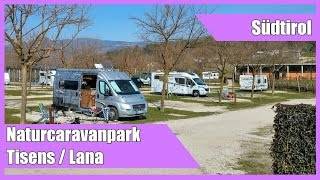 Campingplatz Naturcaravanpark Tisens / Südtirol