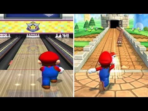 Evolution Of Bowling Minigames In Mario Party