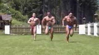 Bodybuilder Sprint
