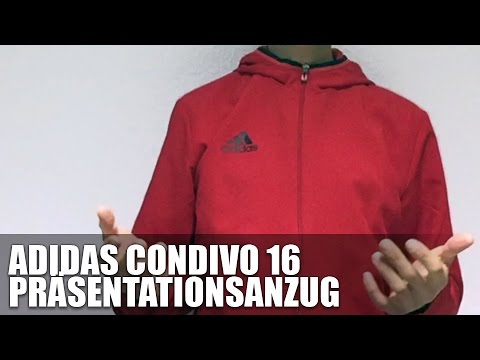 adidas condivo 16 pr sentationsanzug youtube. Black Bedroom Furniture Sets. Home Design Ideas
