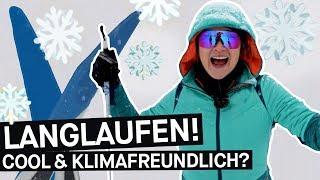 Nachhaltiger Wintersport: Ist Langlaufen die grüne Alternative zum Skifahren? || PULS Reportage