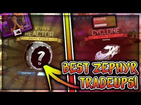 BEST ZEPHYR TRADE UPS ON ROCKET LEAGUE! thumbnail
