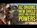 Assassin 39 s Creed Origins Best Shield Gives SUPER POWERS AC Origins Best Shield AC Origins DLC