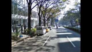 チケット路上販売と無許可撮影と駐車違反・・・ Ameba Studio付近・・・...