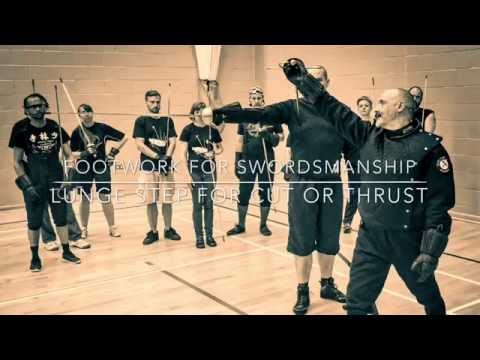 Footwork for Swordsmanship.