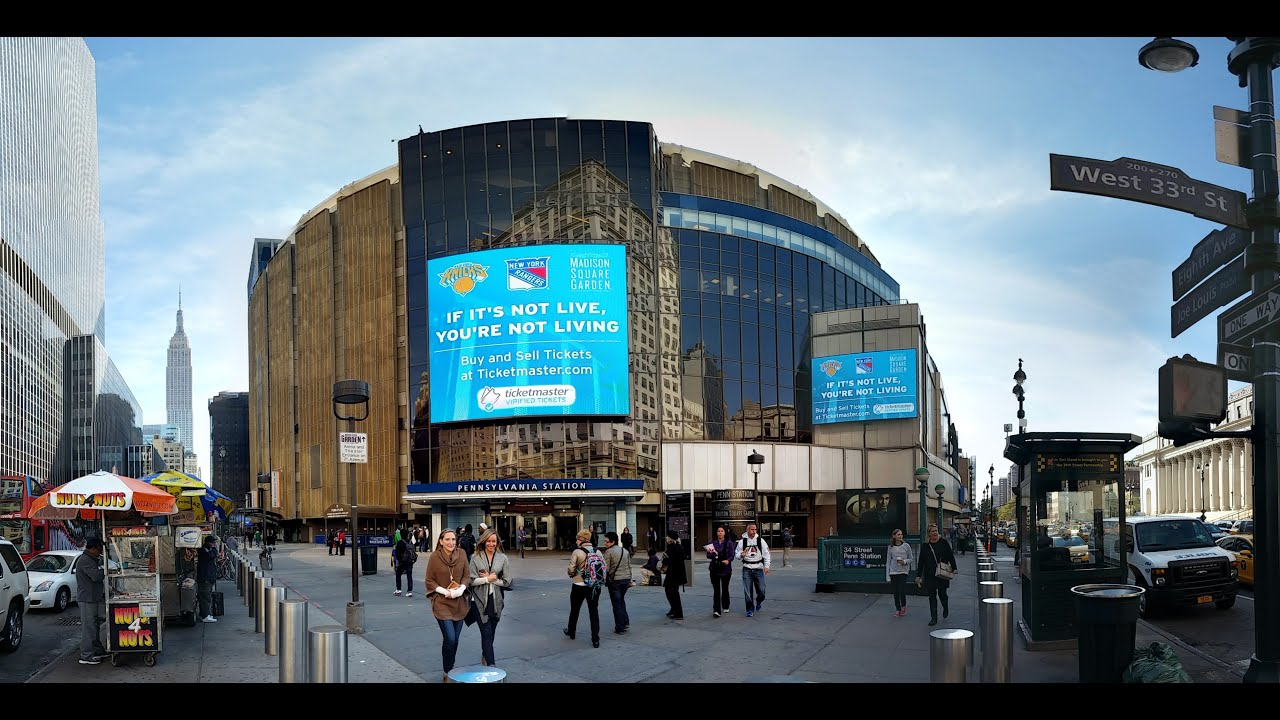 Zwiedzamy Madison Square Garden I Szatnia Ny Knicks Youtube