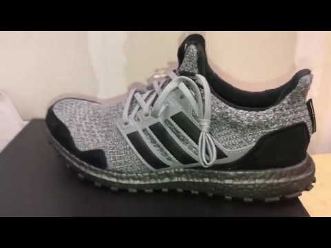 """781f67afb Adidas Ultra Boost Game Of Thrones """"House Stark"""" Unboxing + Review ..."""