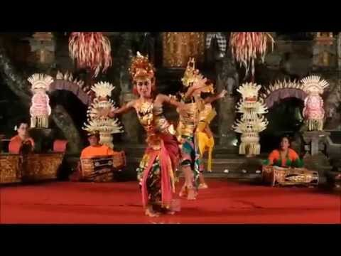 Bali, Indonesia. Balinese Legong Dance.