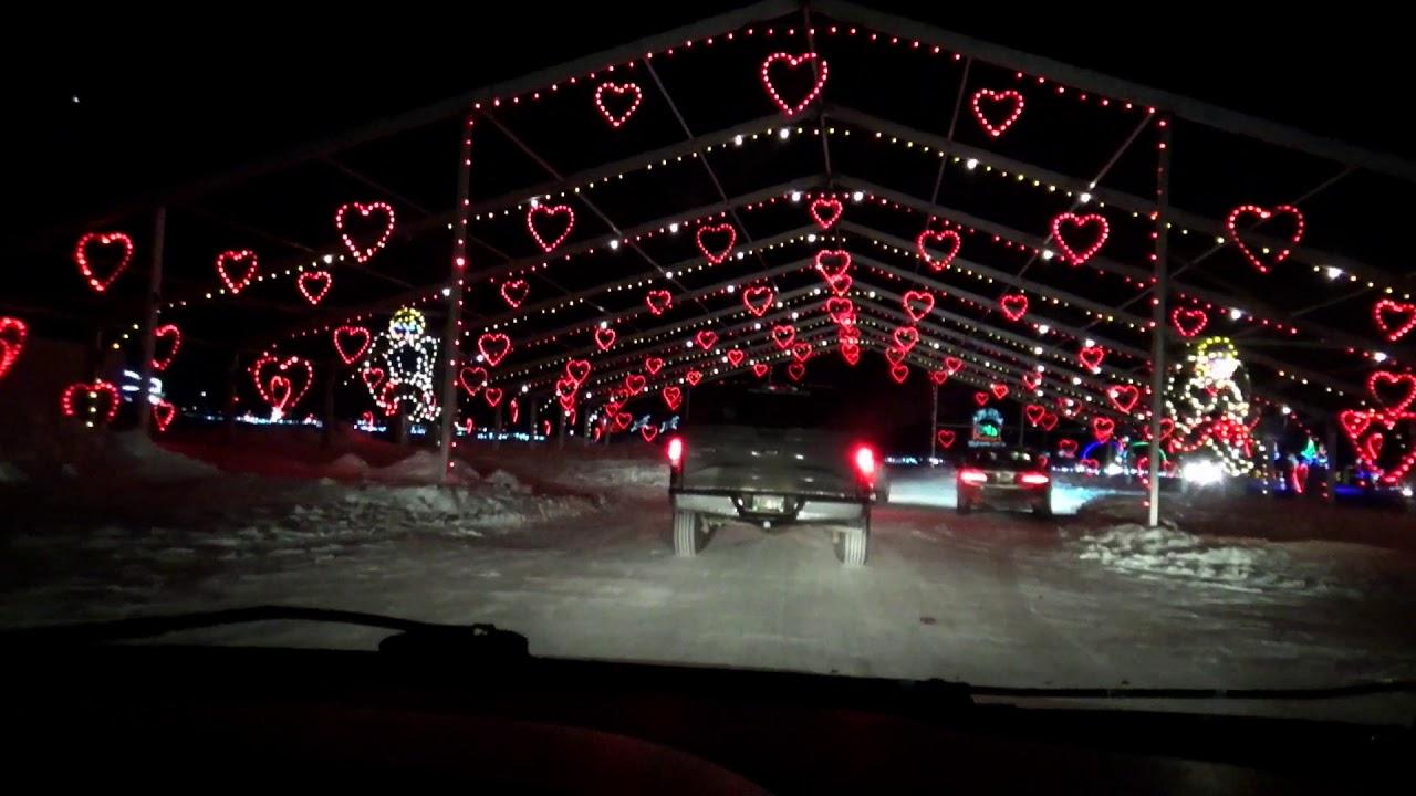 2017 season e27 winter wonderland lightshow winnipeg youtube