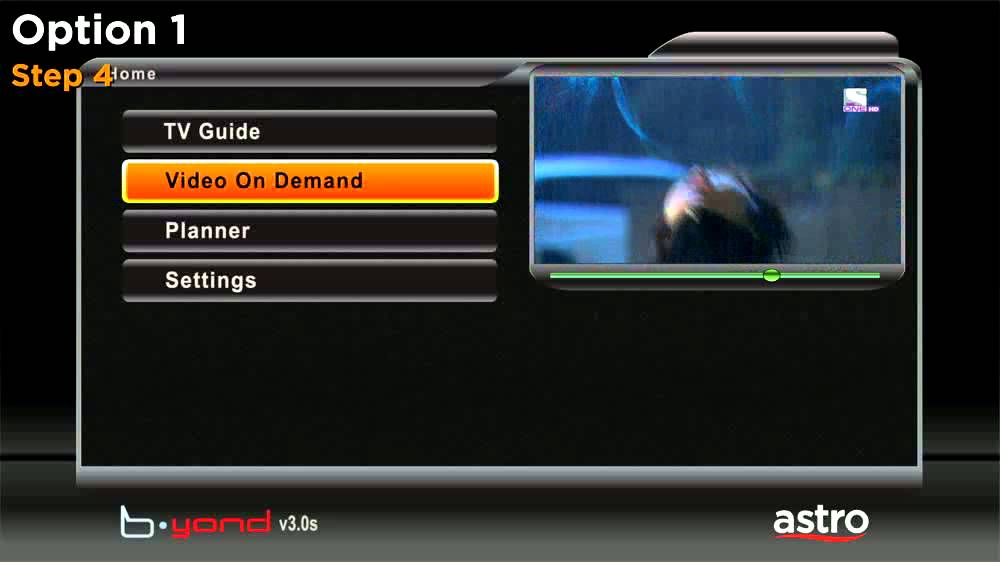 Astro Video On Demand - How to connect your PVR box