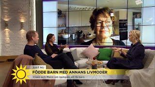 Livmodertransplantation - från hopplöshet till Vincent - Nyhetsmorgon (TV4)