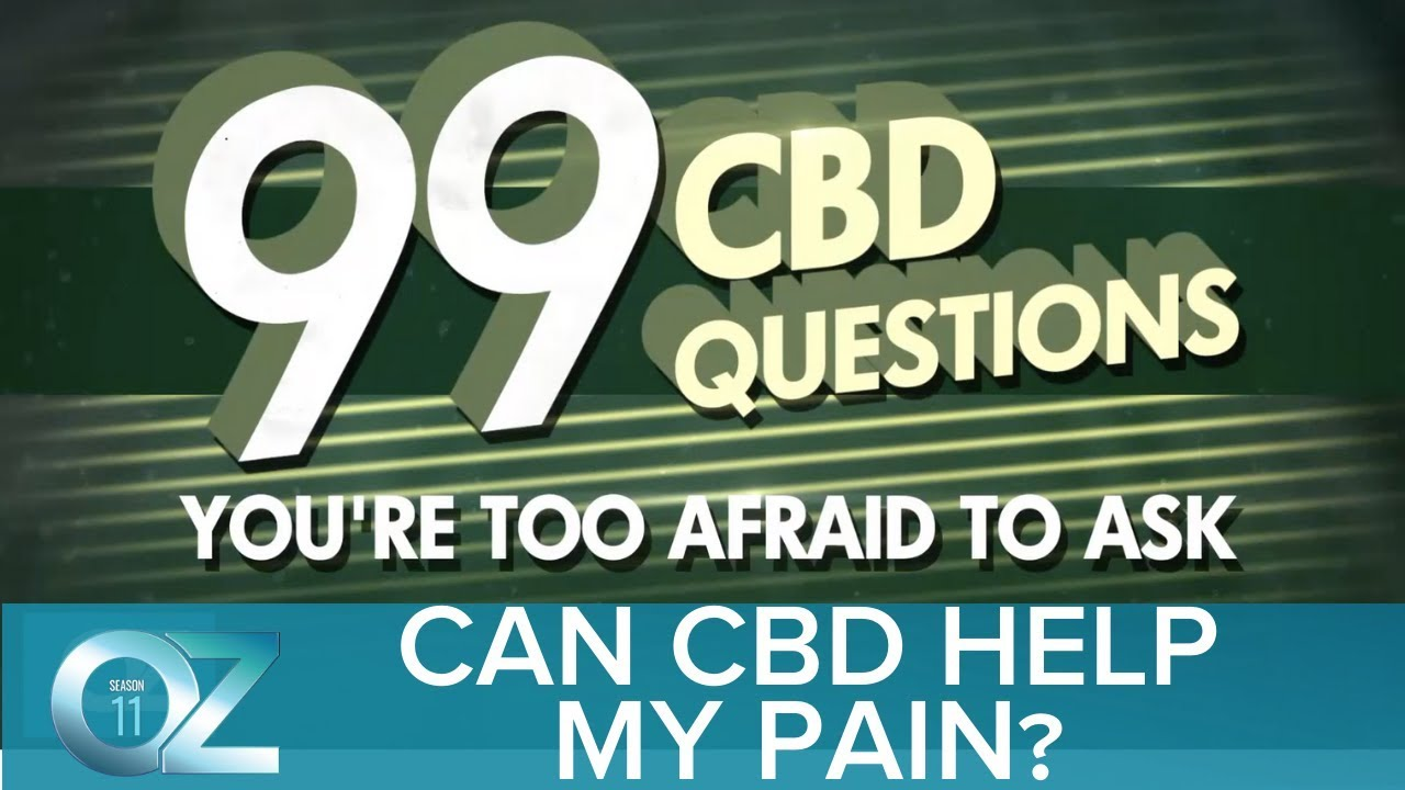 Can CBD Help My Pain?