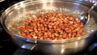 How To Make Homemade Peanut Brittle- Flaky & Good