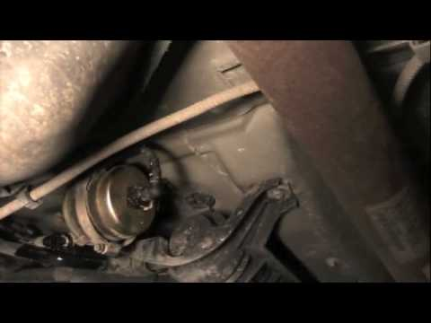 Ford Escape fuel filter - YouTube
