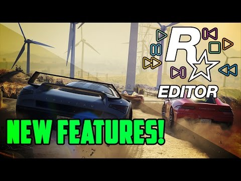 GTA 5 PC – NEW! (Rockstar Editor) FEATURES GAMEPLAY! GTA Online Freemode Events Update