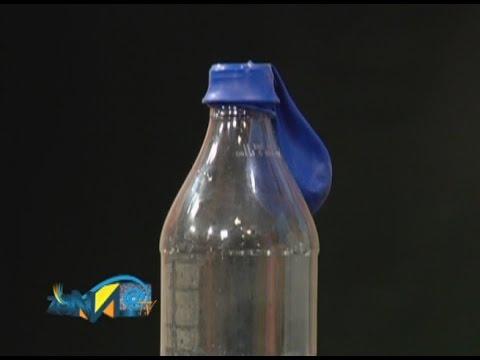 Experimento inflar un globo con vinagre y bicarbonato for Ambientador con suavizante y bicarbonato