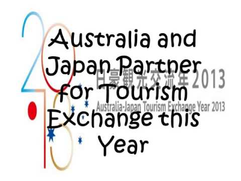 The Tyler Barcelona Group Services - Australia and Japan Partner for Tourism Exchange this Year