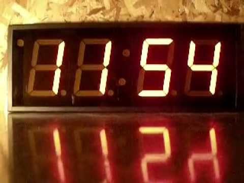 Magnum Clock Large Digital Led Wall Clocks And Timers