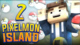 Pixelmon Island | Episode 2 - POKEBALLS! (Pokemon in Minecraft)