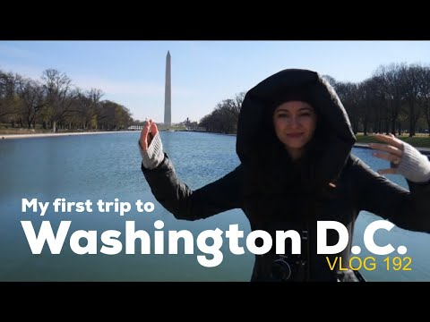 WASHINGTON D.C. TRAVEL VLOG 192