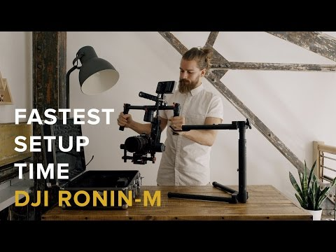 How To Quickly Setup the DJI Ronin-M for Wedding Videographers