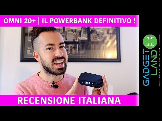 Recensione OmniCharge Omni 20+, il PowerBank con spina da 220V, DEFINITIVO!