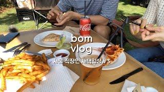 직장인 새댁 일상, 서울 새댁 일상, 브이로그, BMW…