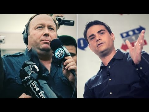 Alex Jones & Ben Shapiro Lash Out At Each Other In Twitter Battle