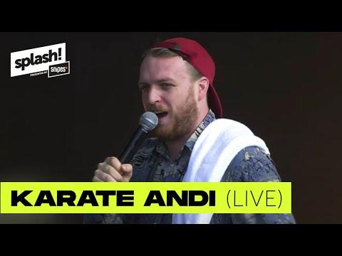 Karate Andi | live @ splash! 21 | VVK splash! 22 startet!