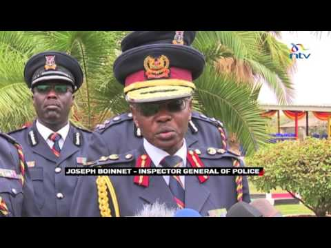 Police IG says he was not aware rogue Kapenguria cop wanted to leave the force