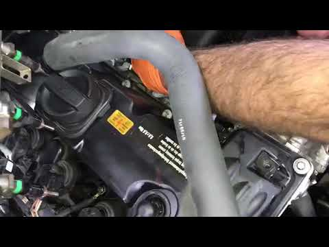 Bmw N51 N52 Vent Hose Replacement After Valve Cover