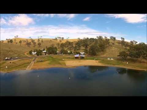 Ben Chifley Dam Bathurst NSW Australia filmed by Sky Eye UAV Solutions