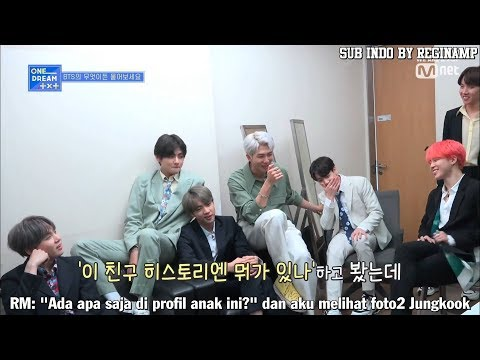 [INDO SUB] ONE DREAM TXT WITH BTS SUNBAENIM~