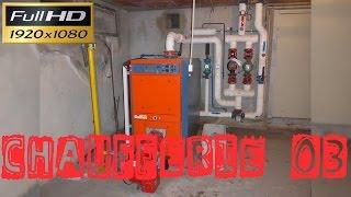 Chaufferie03-Chaudière de 233KW brûleur gaz à air soufflé et 1 départ chauffage