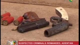8 suspected criminals remanded in police custody  -19/3/2017