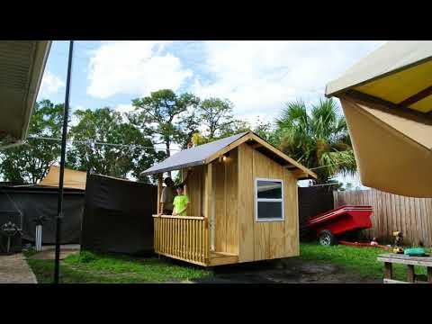 Treehouse No Tree…No Problem