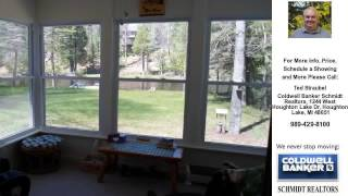 2111 Contour, Roscommon, MI Presented by Ted Straubel.