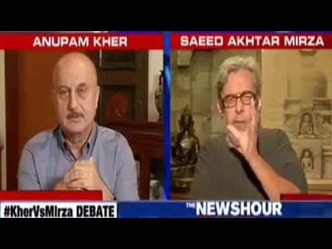 Saeed Akhtar Mirza Vs Anupam Kher On A Patriotic Person