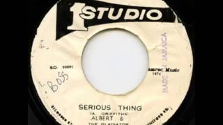 The Gladiators - Serious Thing (Studio One) 7""