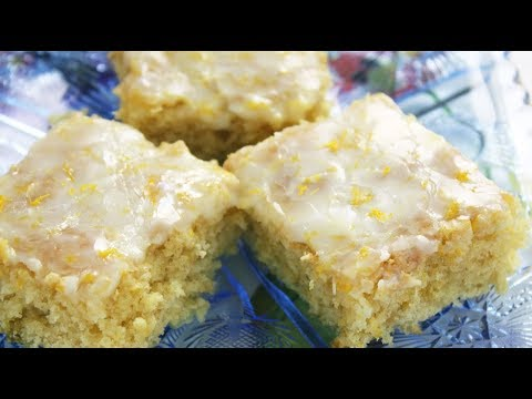 One Bowl Lemon Brownies - Super Easy Recipe