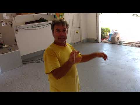 Flake Epoxy Paint Garage Floor