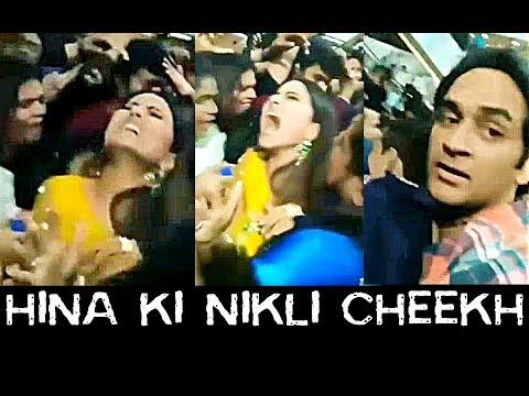 SHOCKING !! Hina Khan Molested in Big Boss Task in Orbit Mall thumbnail