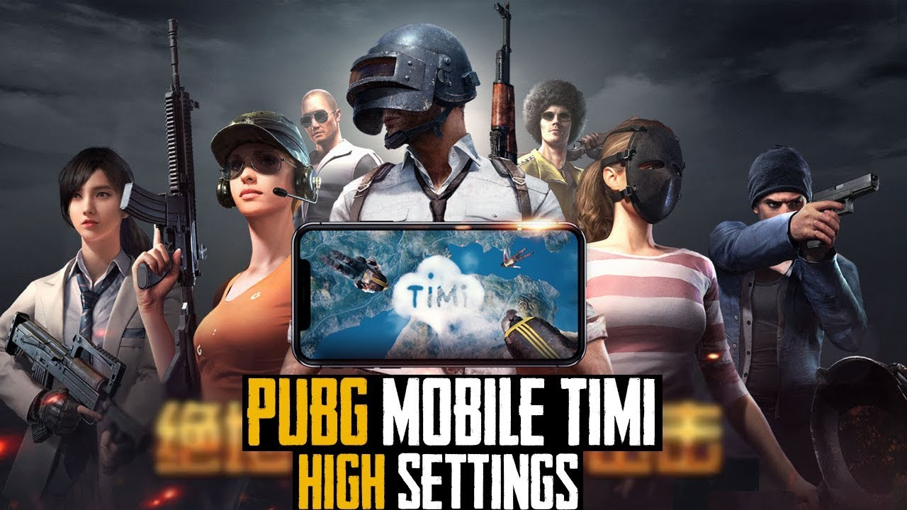 [TiMi] PUBG Mobile High Setting Gameplay