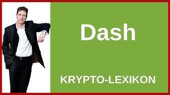 Dash einfach erklärt - Definition