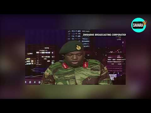 "Military Coup In Zimbabwe: ""The Situation Has Moved To Another Level"" -Zim Army Announcer"