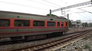 8797次試運轉列車通過大林車站