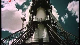 1961 год первый человек в космосе Юрий Гагарин / 1961 - First Man in Space Yuri Gagarin