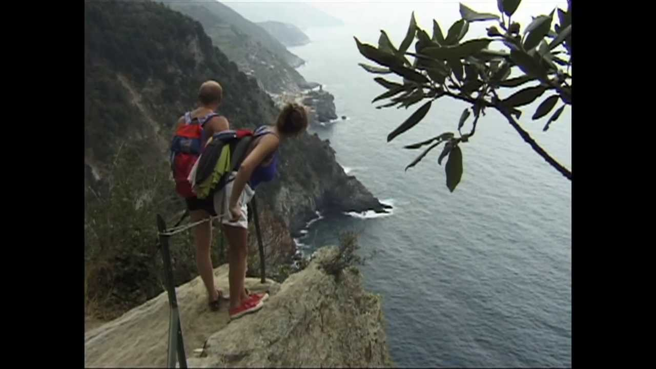 Cinque Terre Hike From Monterosso To Vernazza Italy Youtube